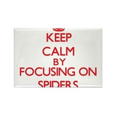 Keep calm by focusing on Spiders Magnets