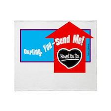 You Send Me-Sam Cooke/t-shirt Throw Blanket
