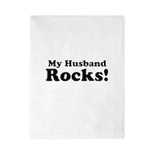 My Husband Rocks! Twin Duvet