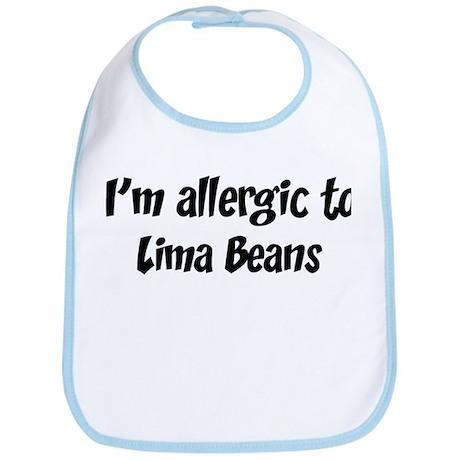 Allergic to Lima Beans Bib
