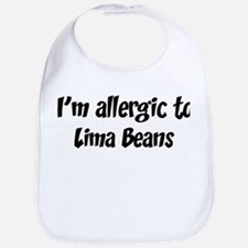 Allergic to Lima Beans Bib