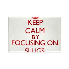 Keep calm by focusing on Slugs Magnets