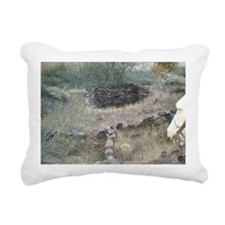 South Rim Grand Canyon P Rectangular Canvas Pillow