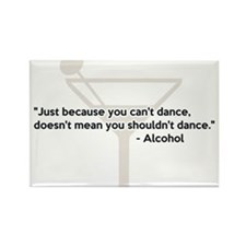 Alcohol Confidence Dancing Magnets