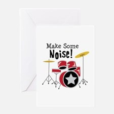 Make Some Noise Greeting Cards