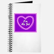 Im His Girl/t-shirt Journal
