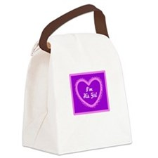 Im His Girl/t-shirt Canvas Lunch Bag