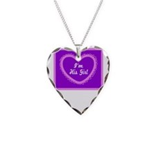 Im His Girl/t-shirt Necklace