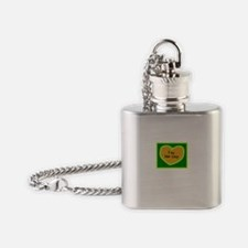 Im Her Guy/t-shirt Flask Necklace