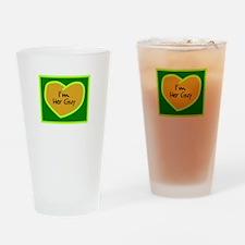 Im Her Guy/t-shirt Drinking Glass