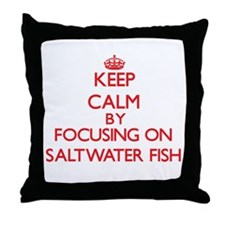 Keep calm by focusing on Saltwater Fish Throw Pill