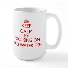 Keep calm by focusing on Saltwater Fish Mugs