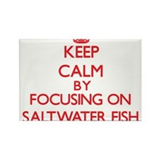Keep calm by focusing on Saltwater Fish Magnets