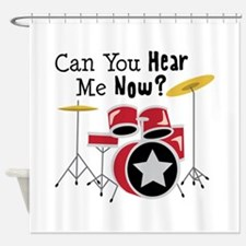 Can You Hear Me Now Shower Curtain