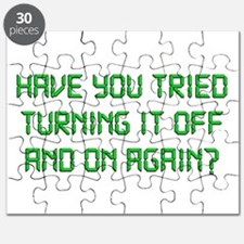 Have You Tried Turning It Off And On Again? Puzzle
