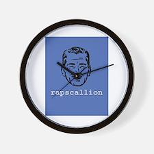 Rapscallion Wall Clock