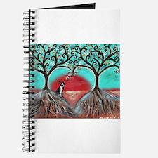 Boston Terrier Tree of Life Hearts 2 Journal
