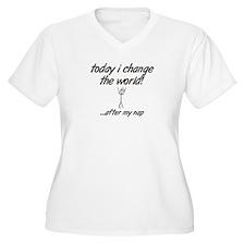 Change the World Plus Size T-Shirt