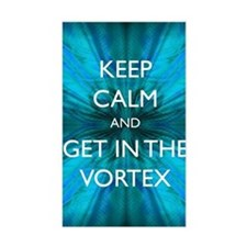 Keep Calm & Get in the Vortex Decal