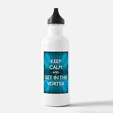 Keep Calm & Get in the Vortex Water Bottle