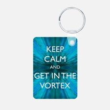 Keep Calm & Get in the Vortex Keychains