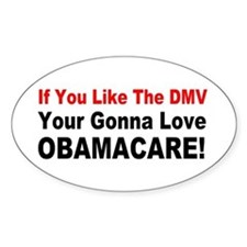 anti obama obamacarebump Decal