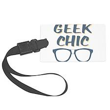 Geek Chic Glasses Luggage Tag