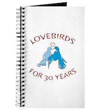 30th Anniversary Lovebirds Journal