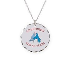 50th Anniversary Lovebirds Necklace