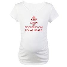 Keep calm by focusing on Polar Bears Shirt