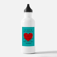 God Grant Me 4 Water Bottle