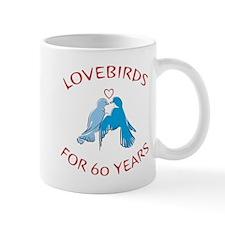 60th Anniversary Lovebirds Mug