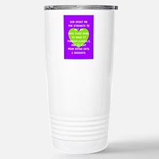 God Grant Me 3 Travel Mug