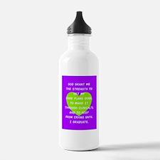 God Grant Me 3 Water Bottle