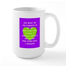 God Grant Me 3 Mugs