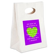 God Grant Me 3 Canvas Lunch Tote