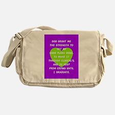 God Grant Me 3 Messenger Bag
