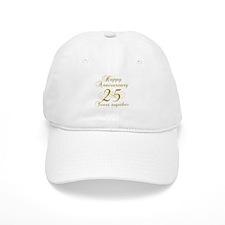 25th Anniversary (Gold Script) Baseball Cap
