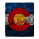 Colorado Fleece Blankets