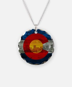 Colorado Flag Necklace