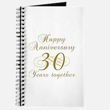 30th Anniversary (Gold Script) Journal