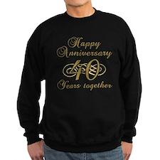 40th Anniversary (Gold Script) Sweatshirt