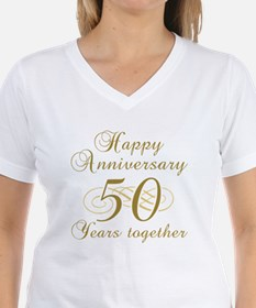 50th Anniversary (Gold Script) Shirt