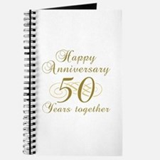 50th Anniversary (Gold Script) Journal