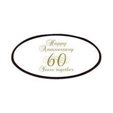 60th Anniversary (Gold Script) Patches