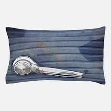 Silver Door handle, Old Blue Truck doo Pillow Case