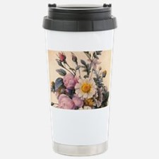vintage botanical art,  Travel Mug
