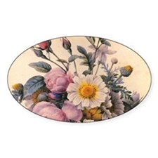 vintage botanical art, beautiful da Decal