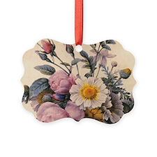 vintage botanical art, beautiful  Ornament