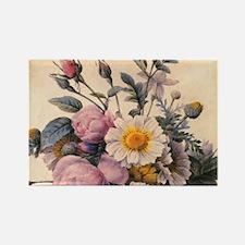 vintage botanical art, beautiful  Rectangle Magnet